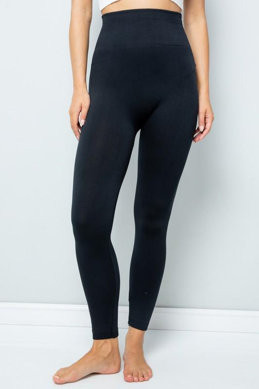 HIGH WAISTED TUMMY CONTROL LEGGINGS - Earthy Wares
