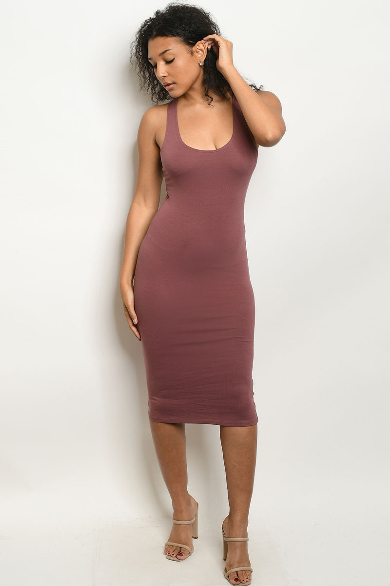 Here For It Tank Bodycon Dress