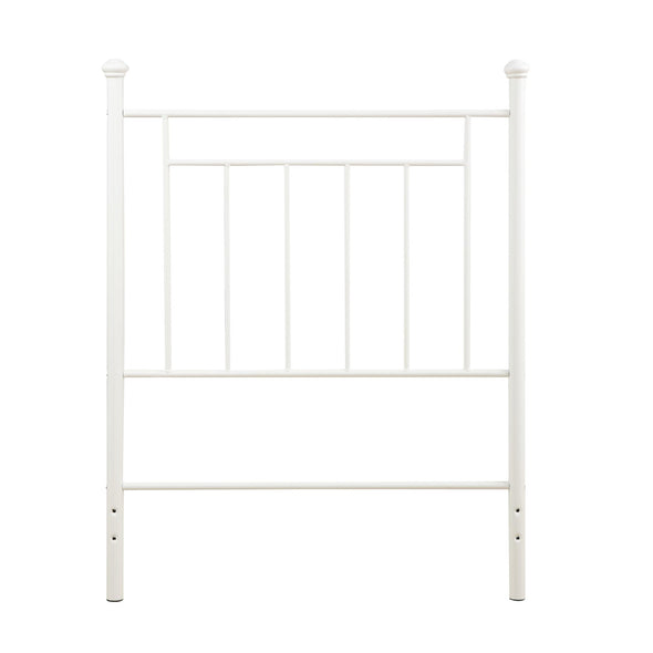 Metal Headboard - White - N/A