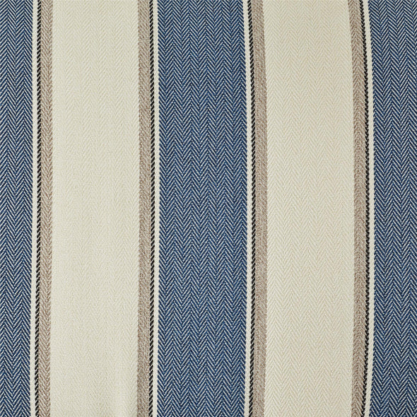 Reva Accent Chair - Blue Stripe - N/A