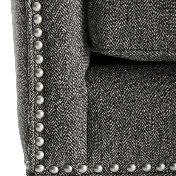 Reva Accent Chair - Charcoal - N/A