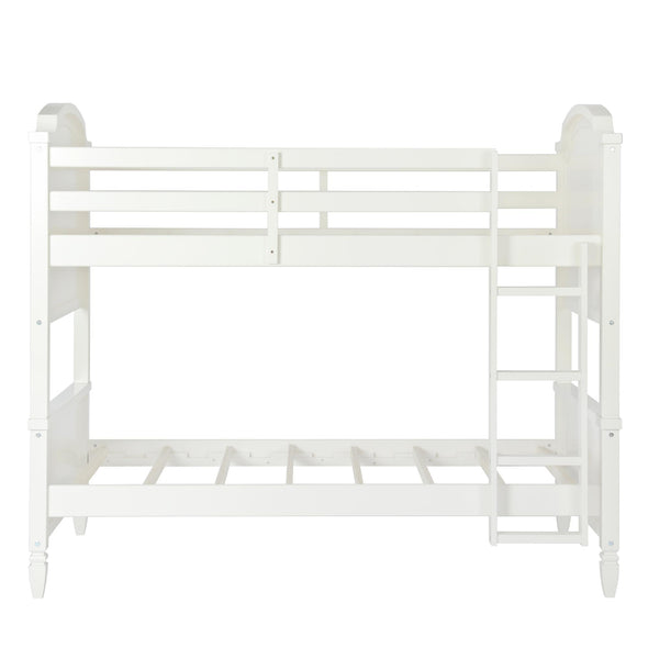 Vivienne Bunk Bed - White - N/A