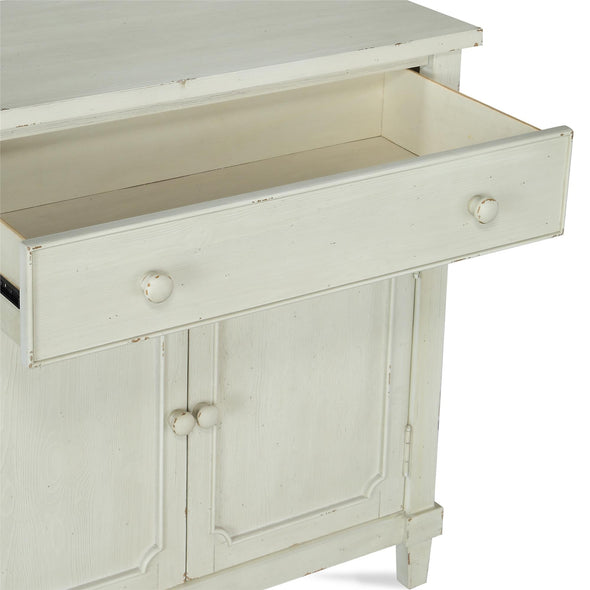Drummond Accent Cabinet - Antique White - N/A