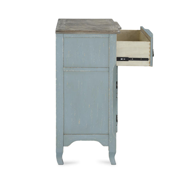 Wells Accent Chest - Antique Teal - N/A