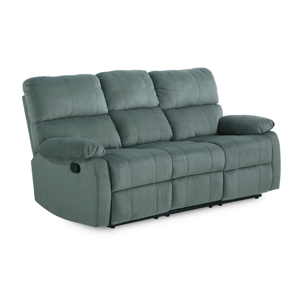 Sterling Reclining Upholstered Sofa - Slate Green - N/A