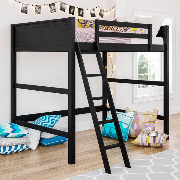 Denver Loft Bed - Black - N/A