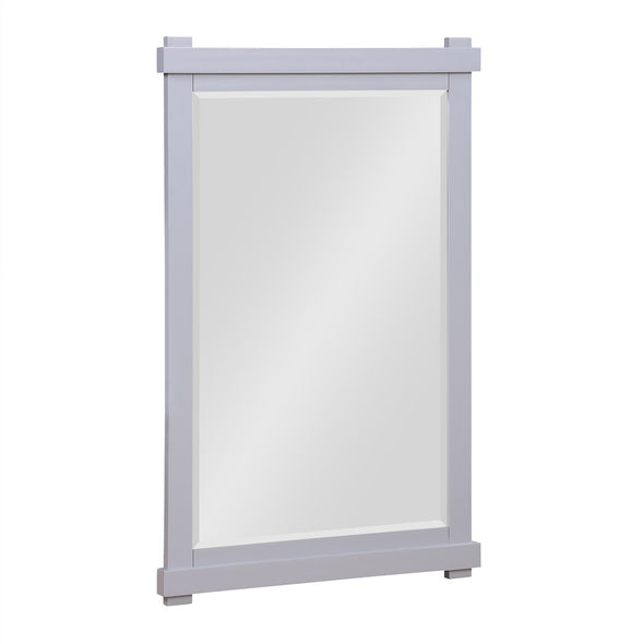 Sunnybrooke 24 Inch Bathroom Mirror - Gray - 24""