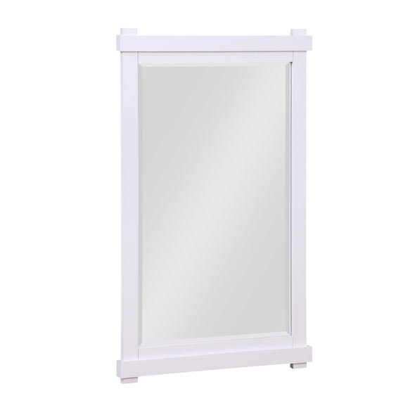 Sunnybrooke 24 Inch Bathroom Mirror - White - 24""