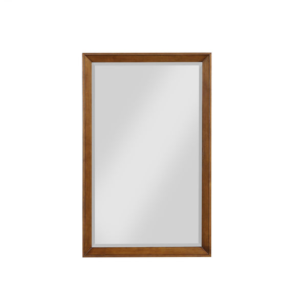 Tribecca 24 Inch Bathroom Mirror - Chocolate - 24""