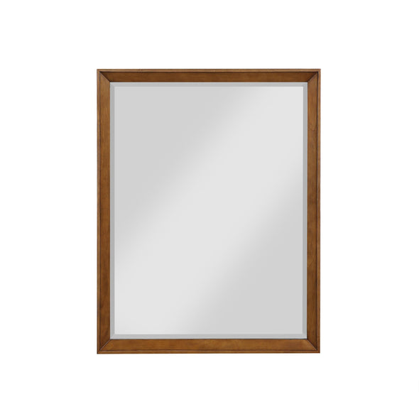 Tribecca 30 Inch Bathroom Mirror - Chocolate - 30""