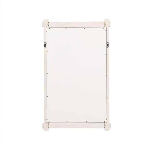Sunnybrooke 24 Inch Bathroom Mirror - Rustic White - 24""