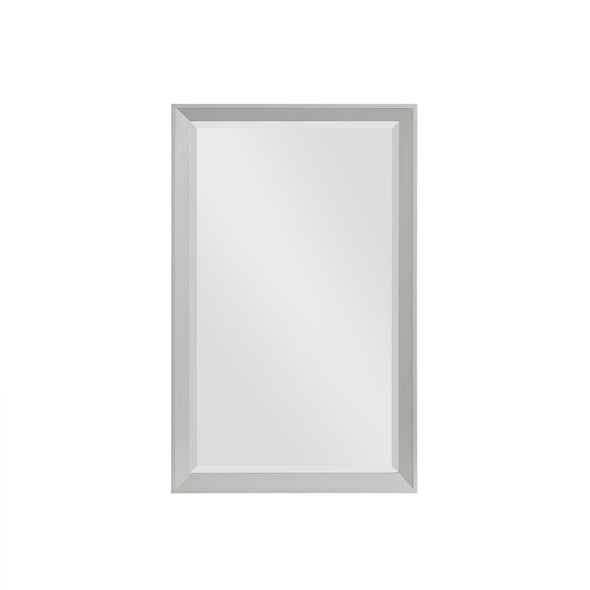 Tribecca 24 Inch Bathroom Mirror - Gray - 24""