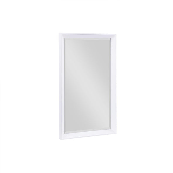 Tribecca 24 Inch Bathroom Mirror - White - 24""