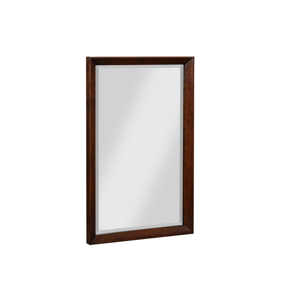 Tribecca 24 Inch Bathroom Mirror - Walnut - 24""