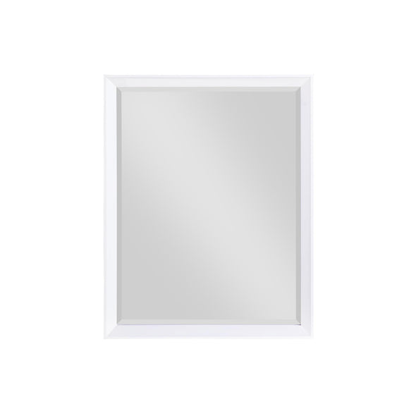 Tribecca 30 Inch Bathroom Mirror - White - 30""