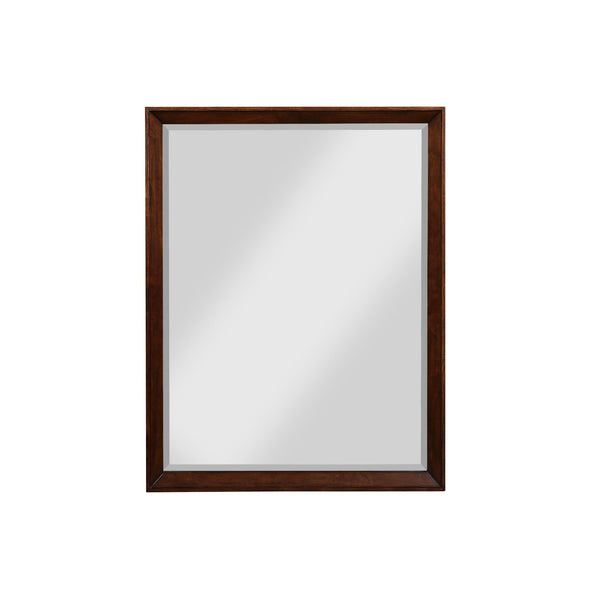 Tribecca 30 Inch Bathroom Mirror - Walnut - 30""