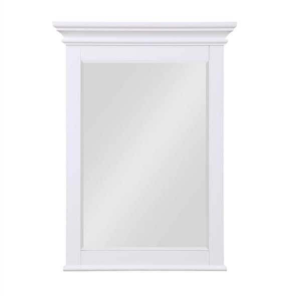 Monteray Beach 24 Inch Bathroom Mirror - White - N/A