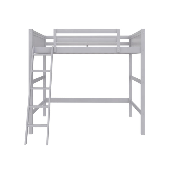 Denver Loft Bed - Gray - N/A