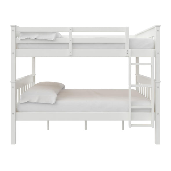 Moon Bunk Bed with USB Port - White - N/A