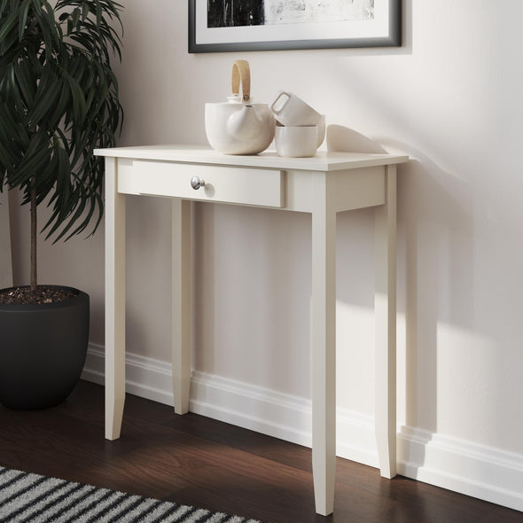 Rosewood Console Table - White - N/A