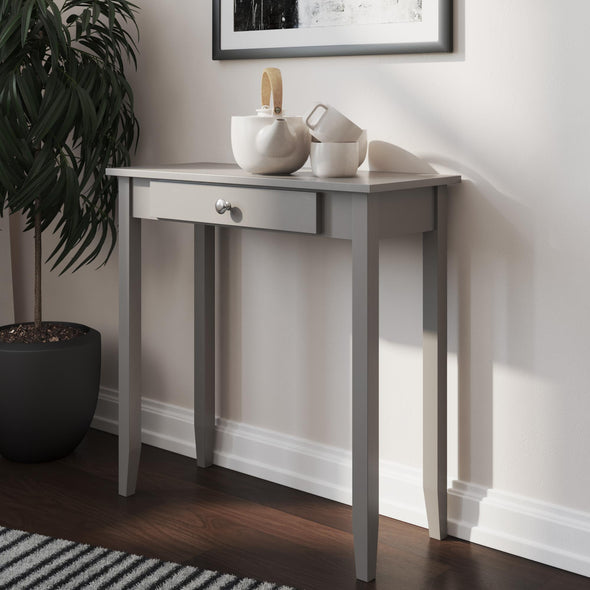 Rosewood Console Table - Gray - N/A