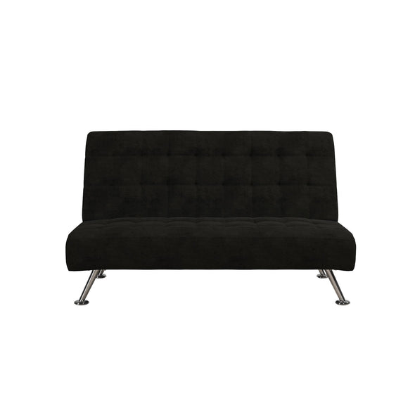 Milo Kids Sofa Futon - Black - N/A
