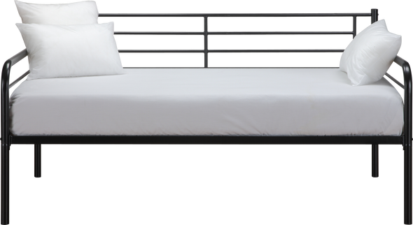 Metal Daybed  - Black - Twin
