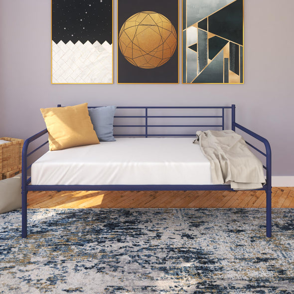 Metal Daybed  - Blue - Twin