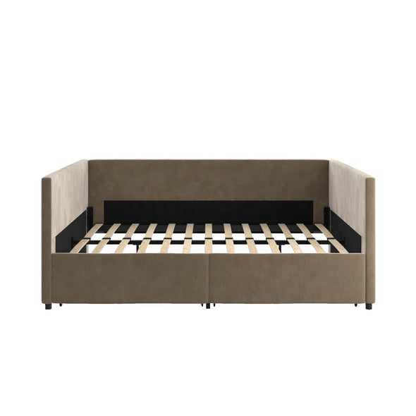 Daybed with Storage - Tan - Full