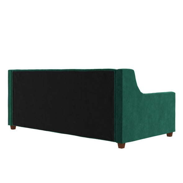 Jordyn Upholstered Daybed - Green - Twin