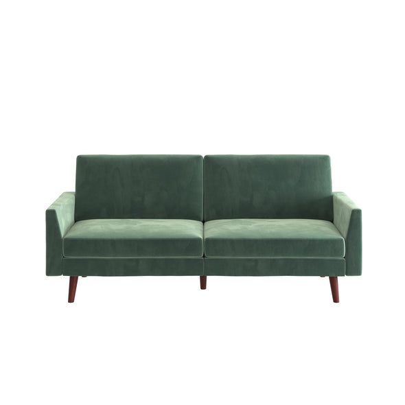 Jules Coil Futon - Light Teal - N/A