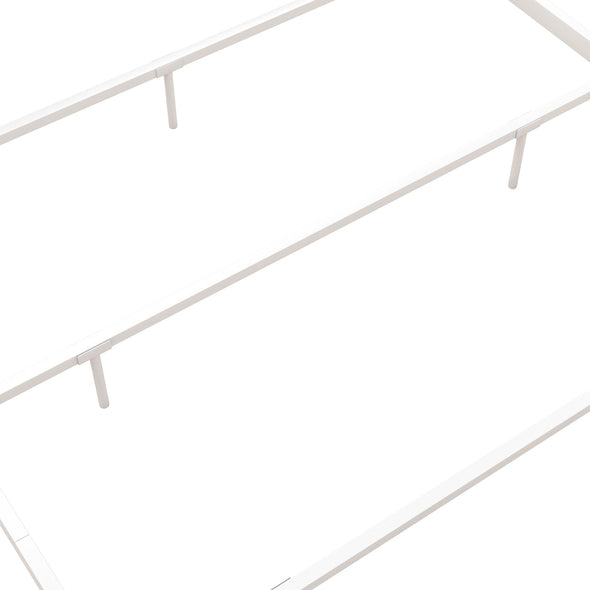 Jenny Lind Metal Canopy Bed - White - Queen