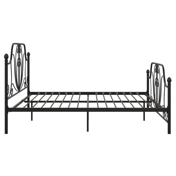 Ivorie Metal Bed - Black - King