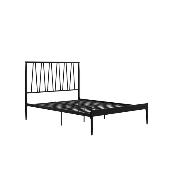 Fairfax Metal Bed - Black - Full