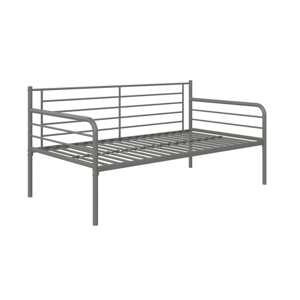 Metal Daybed  - Silver - Twin