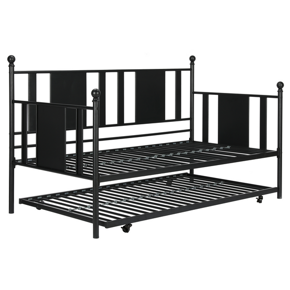 Langham Metal Daybed with Trundle
