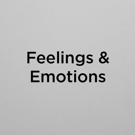 Feelings & Emotions Posters