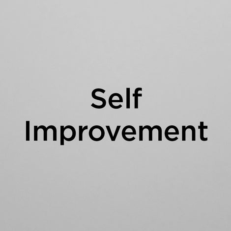 Self Improvement Posters
