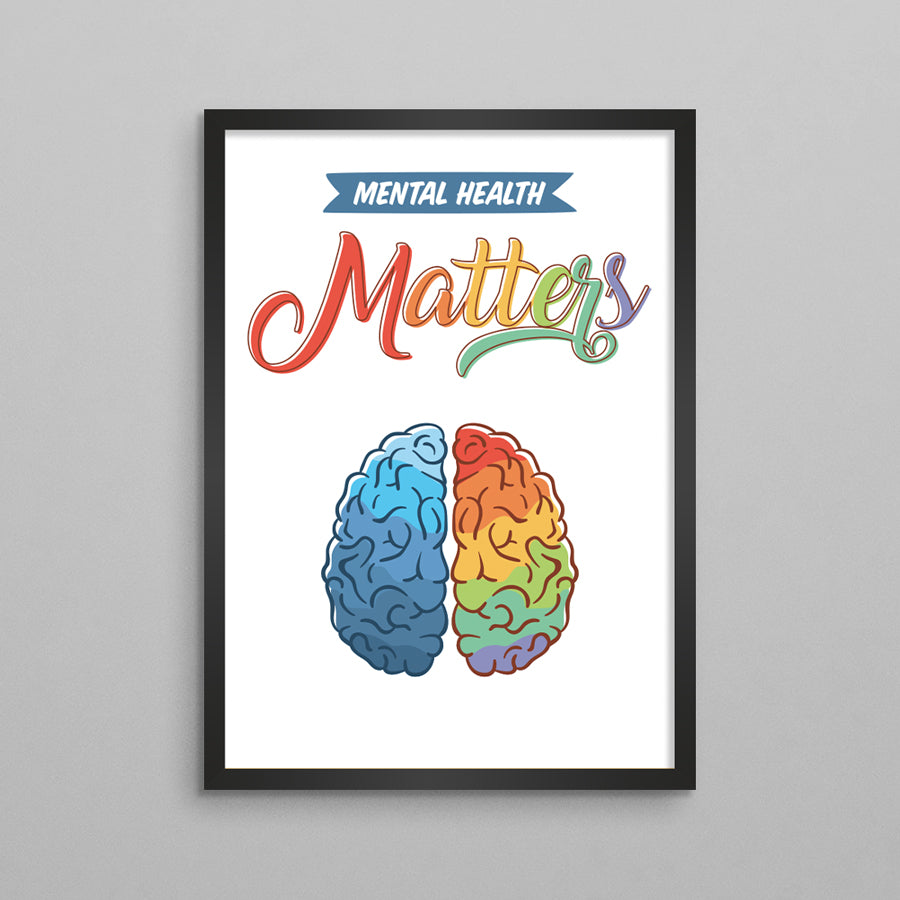 Mental Health Matters Poster - 2 Styles