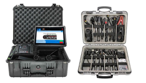 TEXA OHW Construction MASTER Kit (With Cables) - Rugged Tablet