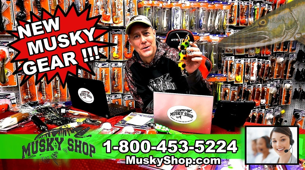 musky shop new musky fishing gear