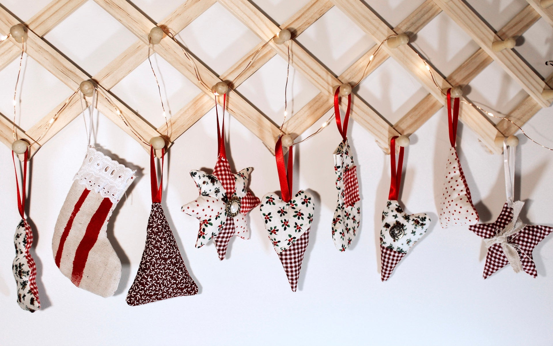 budget decorations to sew for christmas