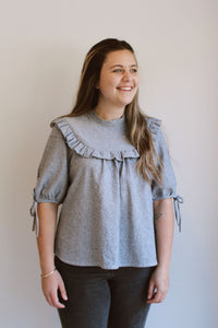 Dua Blouse Digital Sewing Pattern