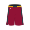 Custom Basketball Short | Warrior - Maroon - Spartan Sports Global