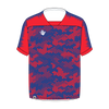 Custom Soccer Jersey | Hex - Blue / Red - Spartan Sports Global