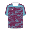 Custom Soccer Jersey | Hex - Claret / Blue - Spartan Sports Global