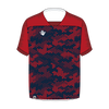 Custom Soccer Jersey | Hex - Navy / Red - Spartan Sports Global