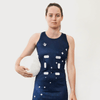 Custom Netball Dress | Galaxy - Slate - Spartan Sports Global
