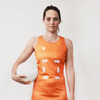 Custom Netball Dress | Hex - Orange - Spartan Sports Global