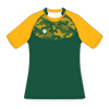 Custom Rugby Jersey | Hex - Green / Yellow - Spartan Sports Global